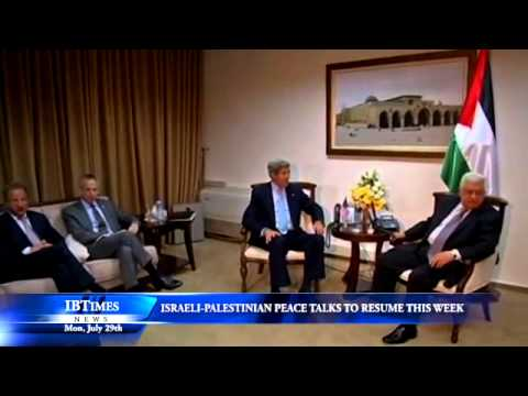 Israeli-Palestinian Peace Talks To Resume This Week
