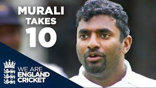 Murali Takes 10 at Edgbaston | England v Sri Lanka 2006 - Full Highlights