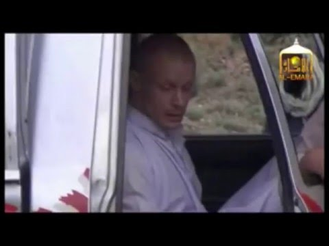 Taliban video showing the release of Army Sergeant Bowe Bergdahl