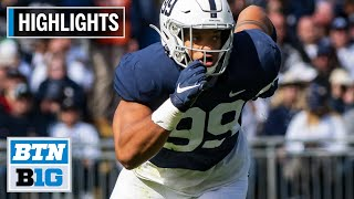 Highlights: Yetur Gross-Matos Declares for 2020 NFL Draft | Penn State | B1G Football