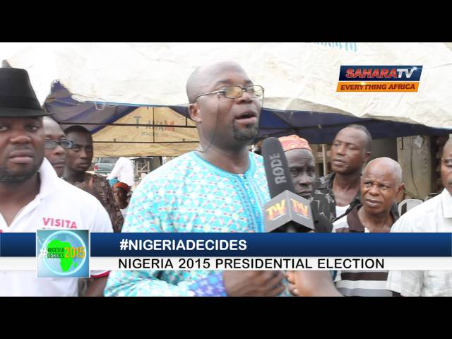 NIGERIANS REFUSE TO BE DISENFRANCHISED