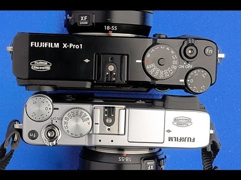 Fujifilm XE1 vs Fuji XPro1 Camera - English Photographer Comparison Review