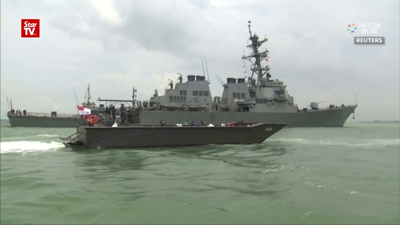 U.S. Navy to halt operations after USS John S. McCain crash