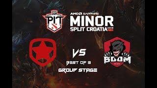 Gambit vs Boom ID | OGA DOTA PIT MINOR 2019 Group Stage Highlights DOTA 2