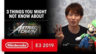 Three Things You Might Not Know About ASTRAL CHAIN - E3 2019