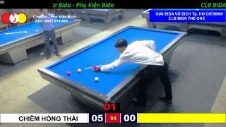 Chiêm Hồng Thái - Trương Quang Hào. GIẢI BIDA 3 BĂNG VÔ ĐỊCH TP. HỒ CHÍ MINH 2019