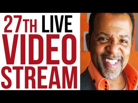 27th Live Stream with Carlton Pearson - Freedom from Religious Tyranny