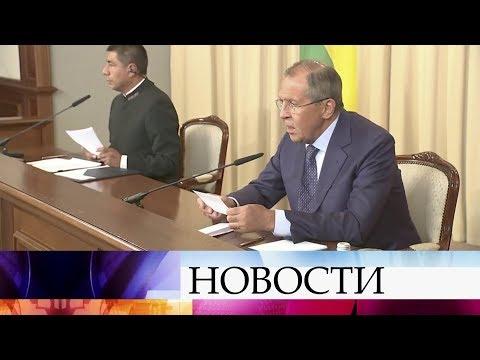 Глава МИД Сергей Лавров раскритиковал введение новых санкций против КНДР.