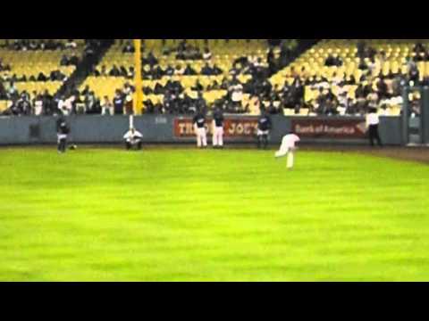 Colorado Rockies vs Los Angeles Dodgers 9/27/13 pre game part 2