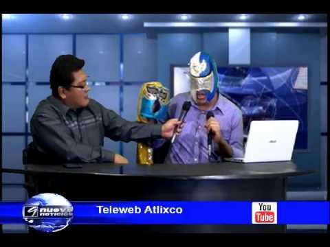 Noticiero 20 de Octubre de 2014 Atlixco Puebla Teleweb