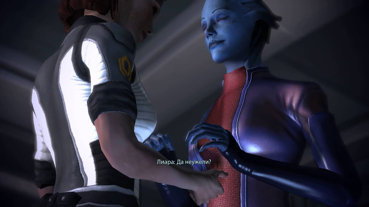 Mass effect liara bound gagged stories hentia gallery