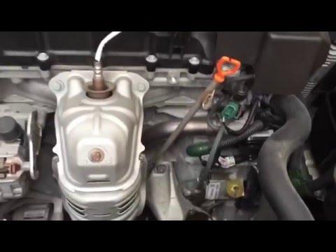 2013 - 2016 Accord 4-Cyl CVT Transmission Fluid Change