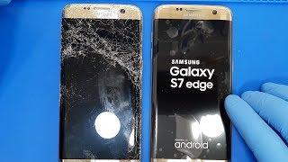 Samsung Galaxy S7 Edge Ekran Değişimi #gsmiletişim