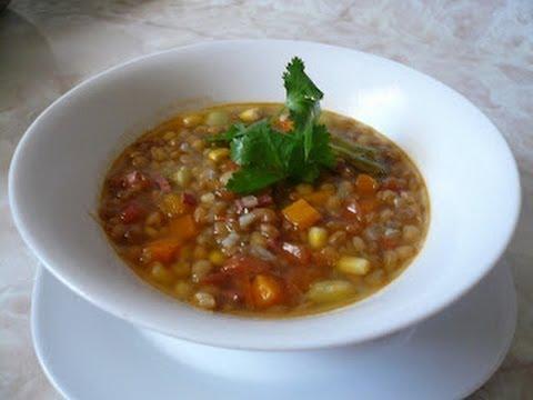 Sopa de Lentejas - Receta