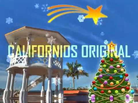 Feliz Navidad CALIFORNIOS ORIGINAL