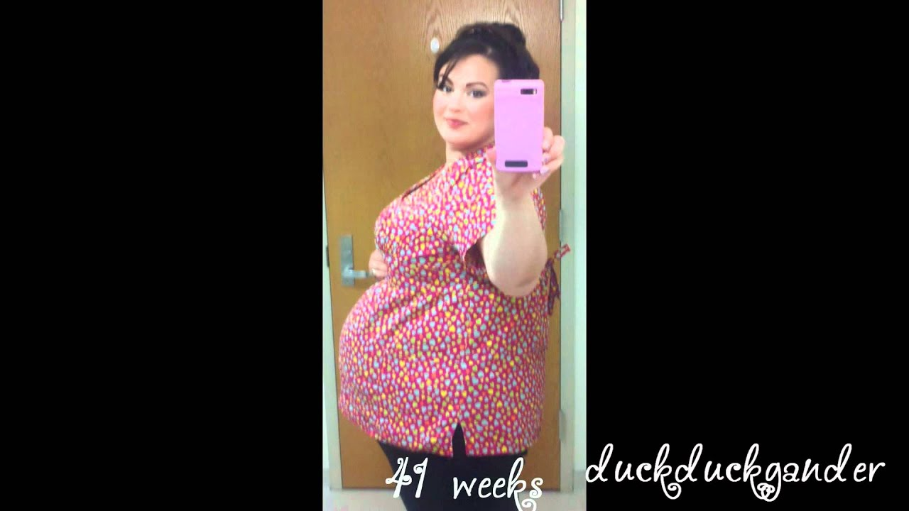weeks 3041 plus size pregnancy progression pictures youtube