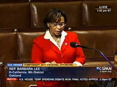 Rep. Barbara Lee Opposes Republican Budget Cuts to Community Policing Programs