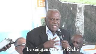 VIDEO: Haiti - Senatè Andris Riché di se Premye Fwa yon Gouvenman...