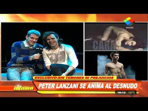 Peter Lanzani y su desnudo: Es algo diferente en mi carrera