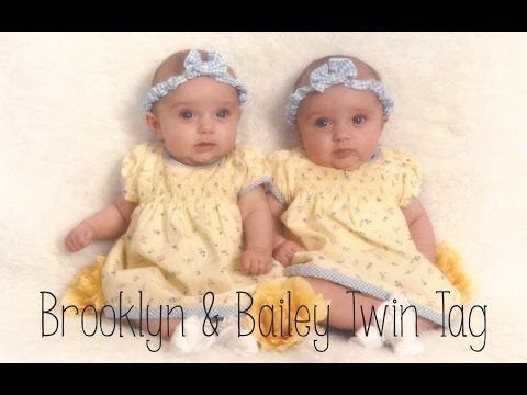 Brooklyn and Bailey Twin Tag!