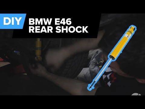 BMW Rear Shock Replacement (E46 3-Series Touring Rear) FCP Euro