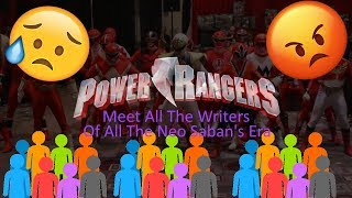 Power Rangers | Meet ALL of The Writers of The Neo Sabans Era