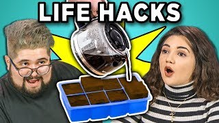 Download Lagu 10 LIFE HACKS YOU NEED TO KNOW with COLLEGE KIDS (REACT) Gratis STAFABAND