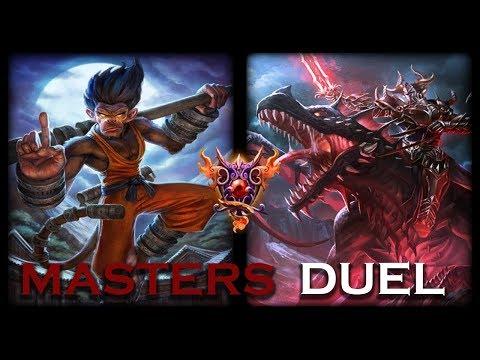 Smite: Masters Duel | Hun Batz vs Ao Kuang | Fear The Monkey