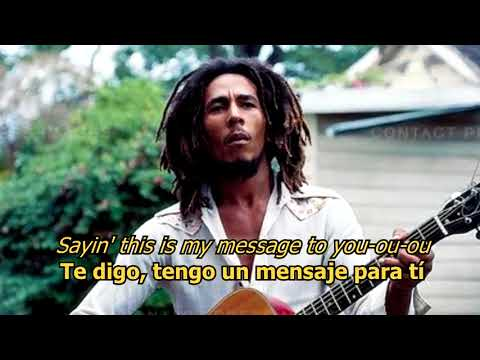 Three little birds - Bob Marley (LYRICS/LETRA) [Original] [w/earphones]