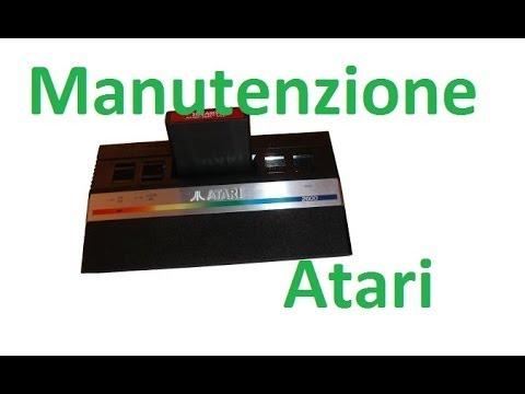 Come pulire consolle e giochi Atari che non funzionano