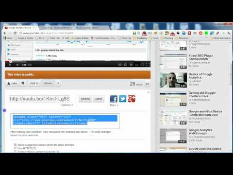 Adding Video to your Wordpress Blog with YouTube