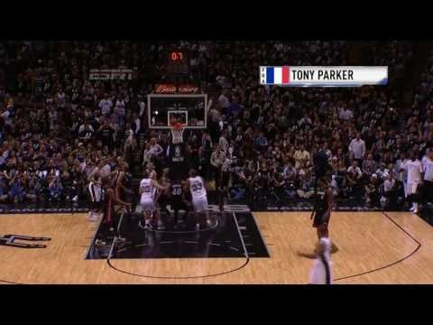 International Play of the Day: Parker Beats the Halftime Buzzer