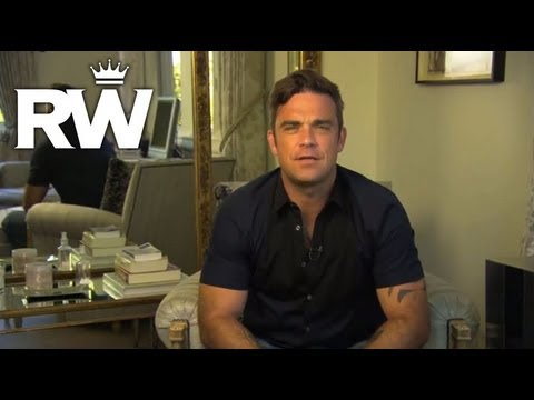 Robbie WIlliams Introduces His New Book, You Know Me