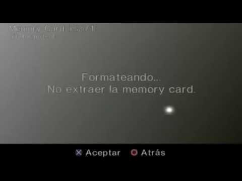 Formatear Memory card Ps2