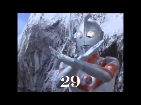 ウルトラマン 殺す 数える Ultraman (1966 - 1967) killcount