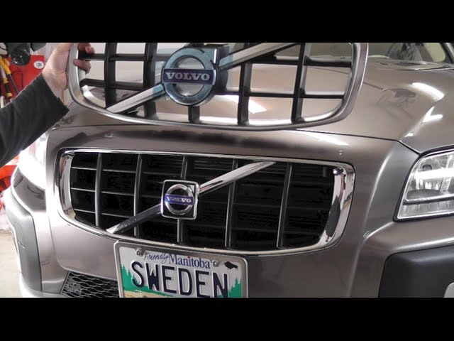 Volvo XC70 V70 S80 Grille update for 2009 - YouTube
