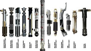 EVERY SINGLE Lightsaber Type in Star Wars