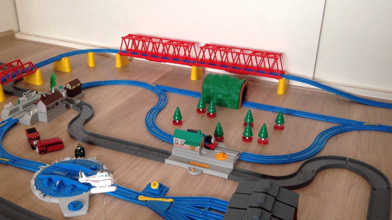 Thomas De Trein Massive Trackmaster Set Youtube