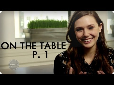 Elizabeth Olsen on Hanging Out on Set at Full House | Ep. 8 Part 1/3 On The Table | Reserve Channel