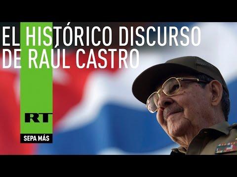 Históricas declaraciónes de Raúl Castro sobre las relaciones con EE.UU. (COMPLETO)