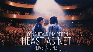 CONCHITA & INA REGEN – HEAST AS NET live in Linz (Hubert von Goisern Cover)