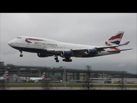 Stunning RWY09L Arrivals | London Heathrow Airport | 14/02/14