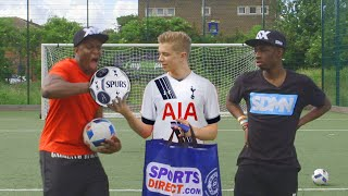 THE EXTREME ARSENAL FOOTBALL CHALLENGE | VS KSI ...& FT. TOBI