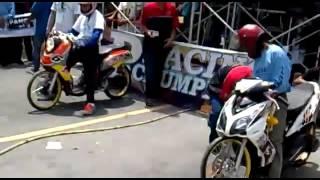 Drag Bike Mio Fino Vs Mio Soul - Fcci Racing Team