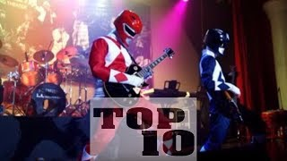 Top 10 BEST Power Rangers Theme Songs