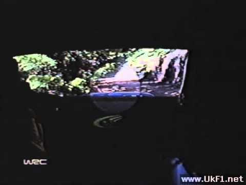 WRC 04 Greece Hirvonen Crashes Replay