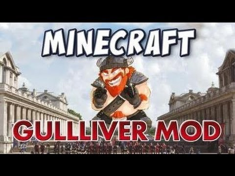 Minecraft: Gulliver Mod 1.5.2 Crafteos + Descargas