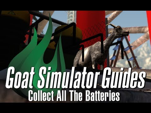 Goat Simulator Guides - Getting all of the Batteries