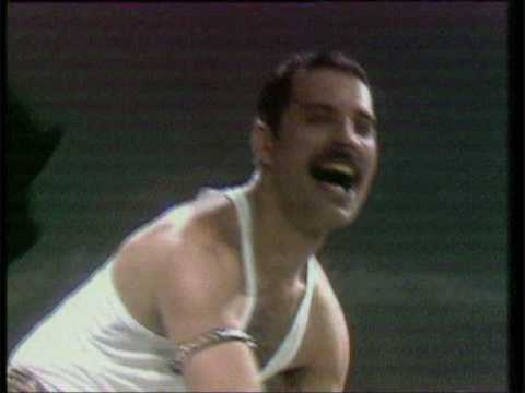 queen,dancer(hot space)