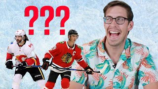 Sports Fans Try Spelling Hockey Players